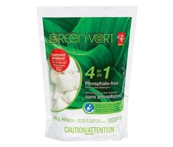 PC Green 4 in 1 Phosphate-Free Dishwasher Detergent
