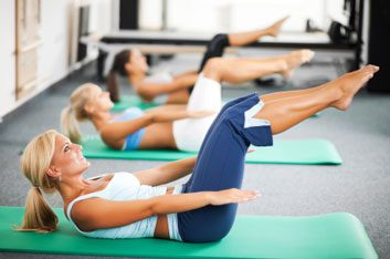 pelvis pilates exercise