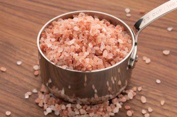 pink Himalayan halite salt