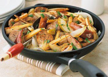 Pork & Apple Stir-fry