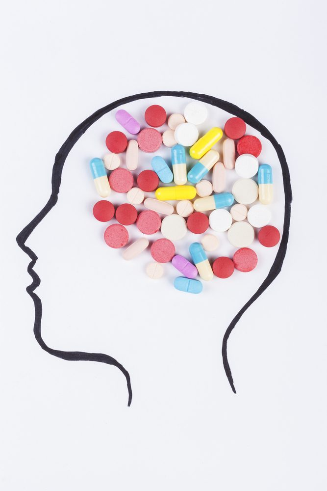Psychiatric drugs shouldn't be taken in parallel with primrose oil nor ginseng.