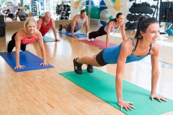 group push-ups