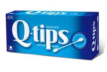 Q-Tip Cotton Swabs
