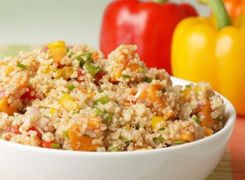 quinoa pilaf salad large