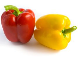 Red and Yellow pepper