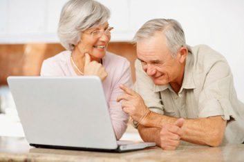 elderly remote care laptop
