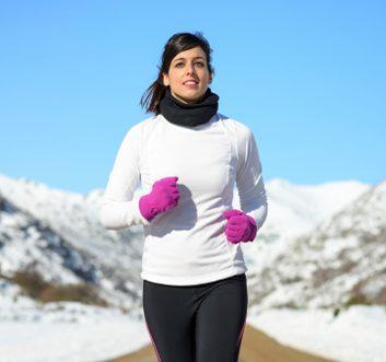 running winter