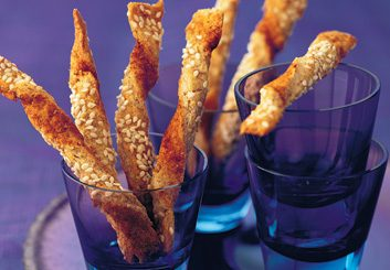sesame twists