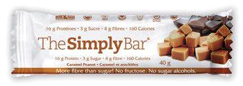 The Simply Bar in Caramel Peanut