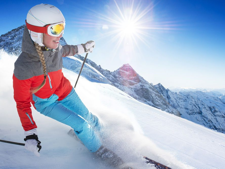 How to Get a Skier's Bum