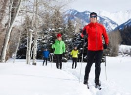 Fitness trend: Cross-country skiing
