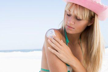 sun sunscreen beach summer sunburn