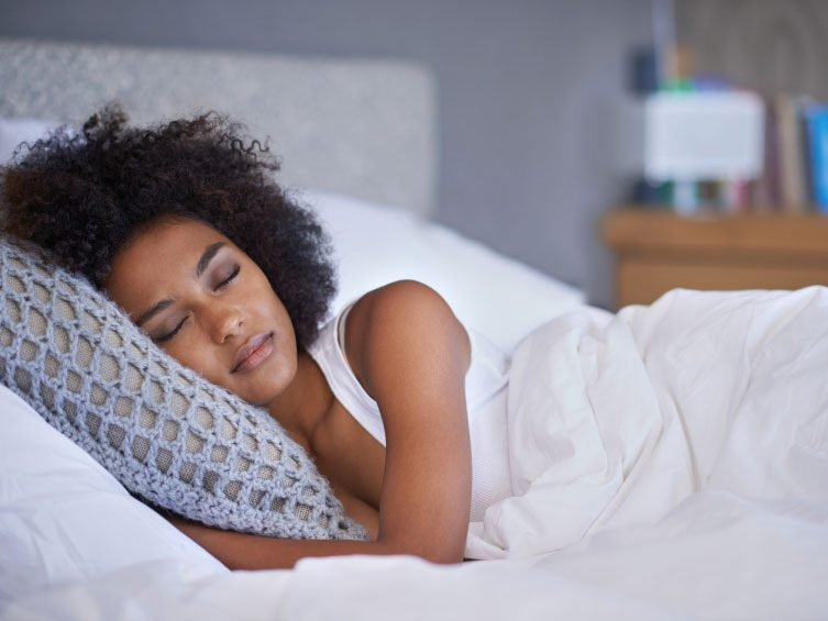Your sleep is more disrupted at a particular time of the month.