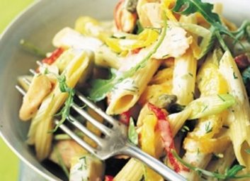 fish trout pasta 353