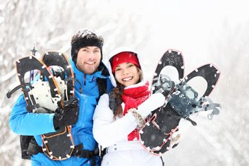 The fitness benefits of snowshoeing
