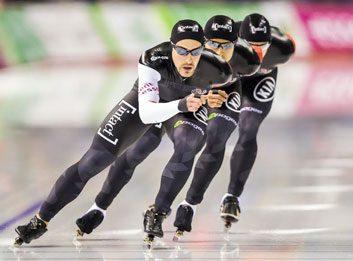 5. Speed skating