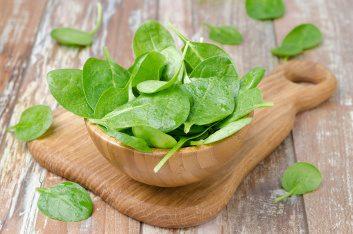 Sneak in nutrient-rich spinach
