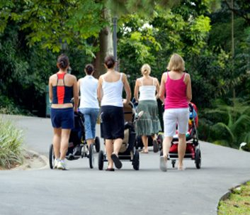 walking strollers