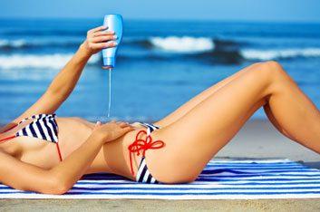 summer suntan lotion sunscreen tan bikini