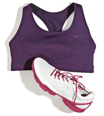 supportive running bra
