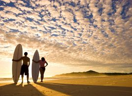 The joys of surfing