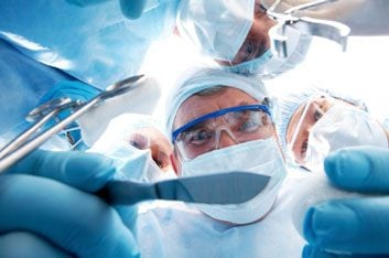 doctors in surgery
