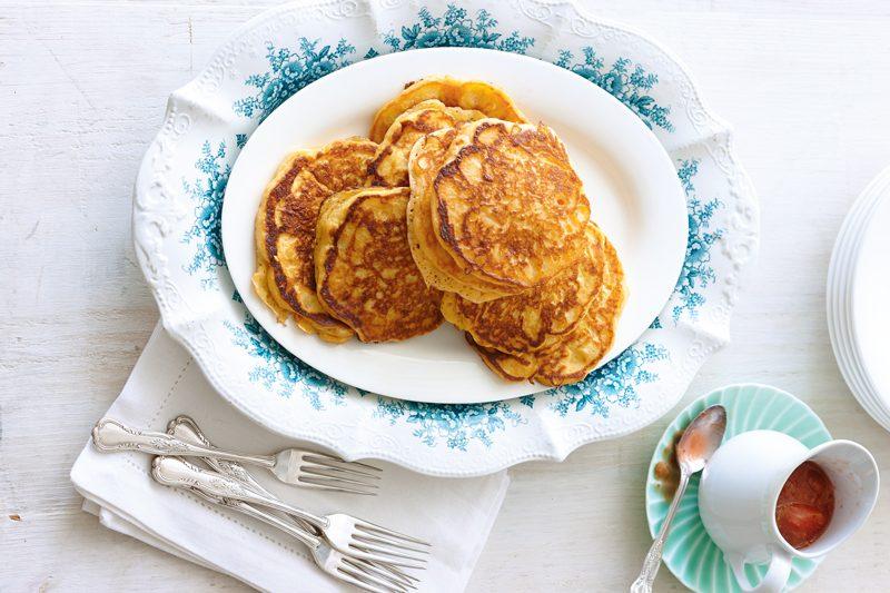 eat more veggies | pancakes