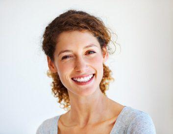 teeth smile woman