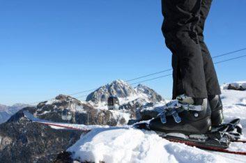skiing rocky mountain
