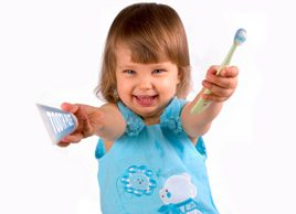 Oral care for toddlers