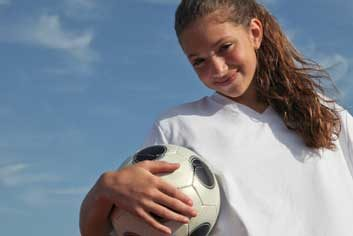 soccer girl sports