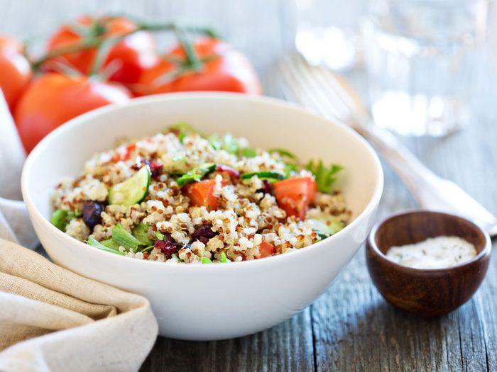 Vegan salad meal