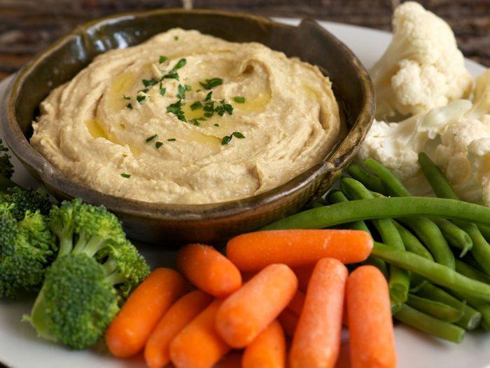 Vegan meal plan veggies