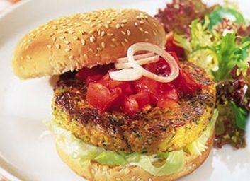 grilled veggie burgers