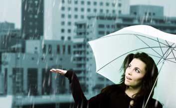 weather rain umbrella flu