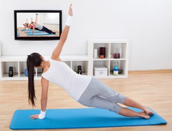 Fitness Trend: Webcam classes