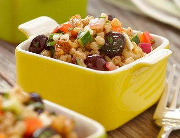 wheat berry salad large