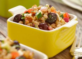 Wheat Berry Salad with Coronation Grapes
