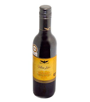 Wolf Blass Yellow Label mini bottle