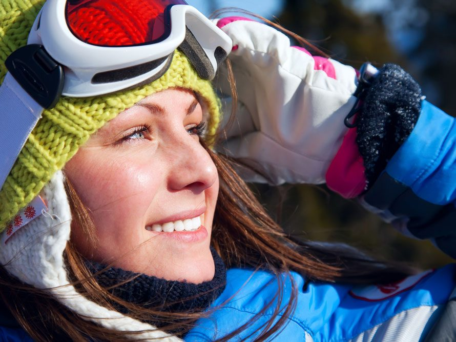Benefits of skiing to beat depression