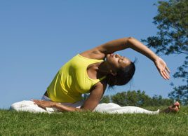 Yoga Helps Breast-Cancer Patients Heal