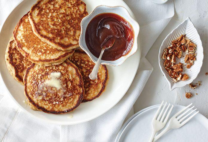 Oatmeal-Buttermilk-Pancakes