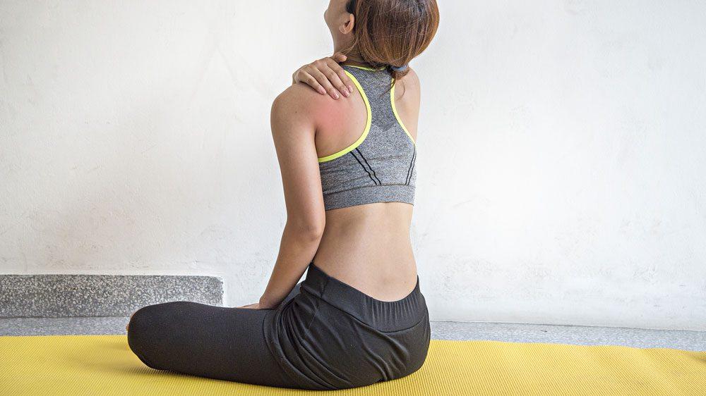 shoulder popping