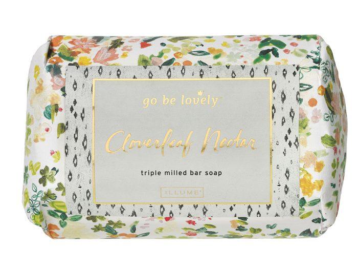 Indigo-soap