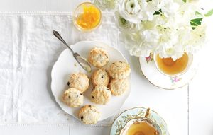 Lemon and Currant Scones
