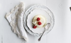 White Chocolate Panna Cotta