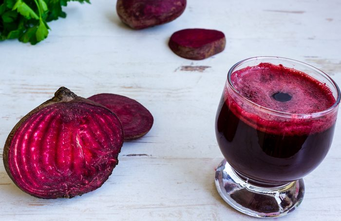 workout nutrition beets
