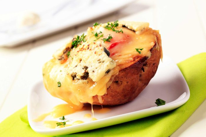 healthy eating potato