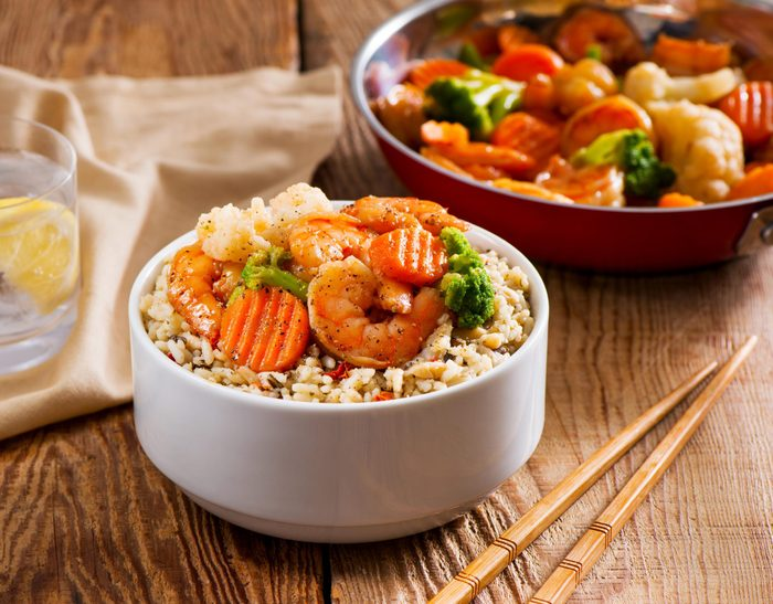 Vegetables-Shrimp-Rice