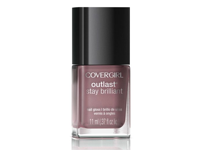 CoverGirl Outlast Stay Brilliant Nail Gloss in Smokey Taupe